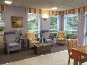 care home relaxation room interior design