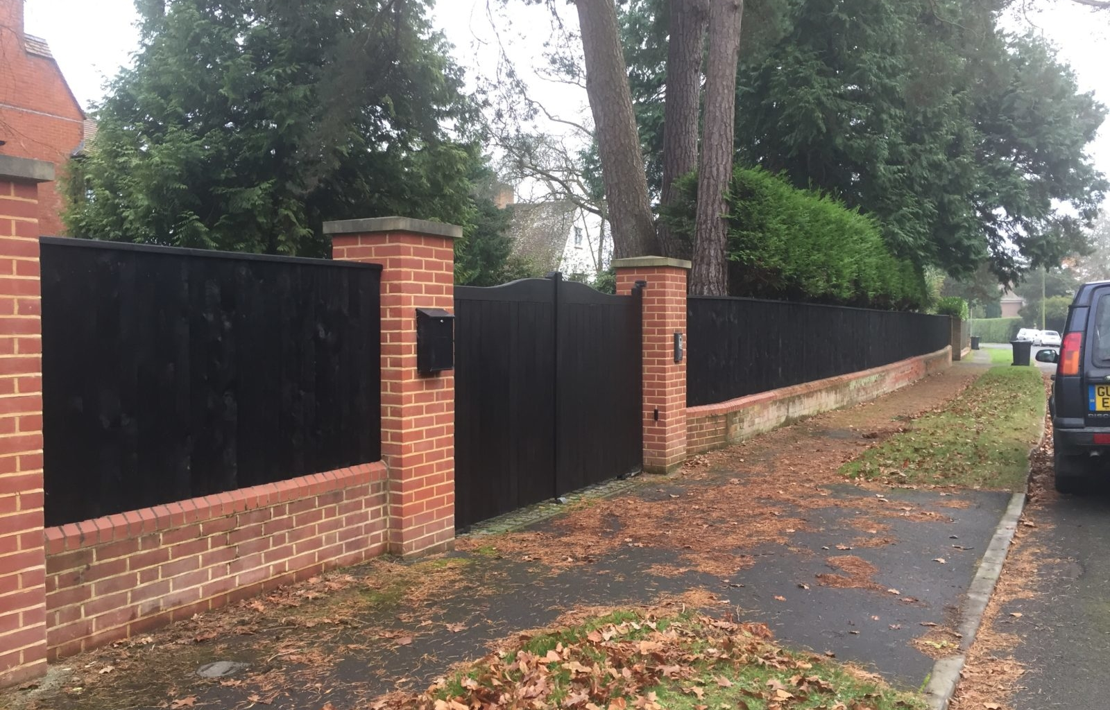 New Fencing