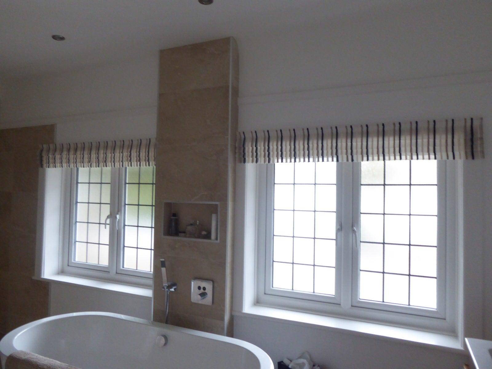 Refurbished Voile Faux Roman Blinds Buzz Interior Design