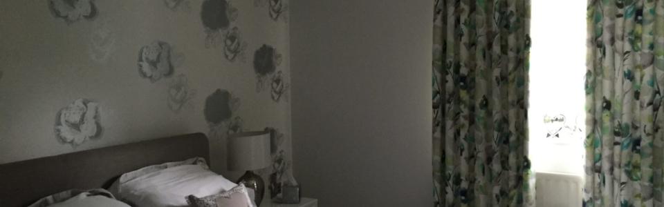 Guest Room, Wave, K&K, beige, Harlequin